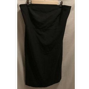 Size 16 GAP Strapless Dress Black